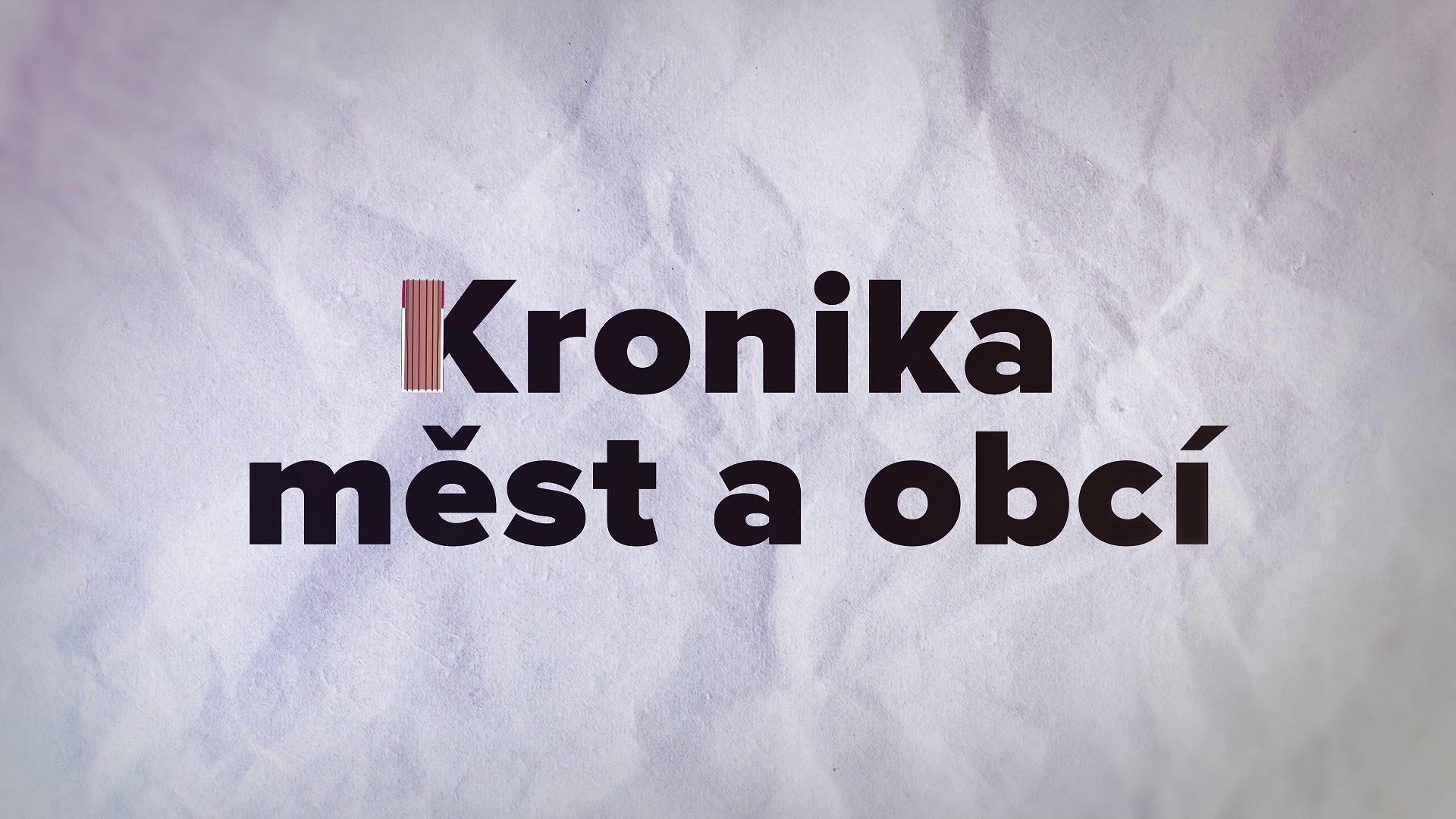 Kronika měst a obcí